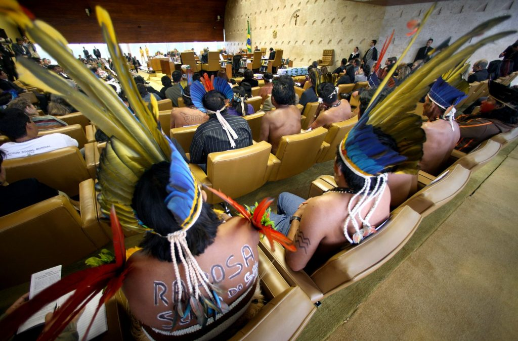 Como o STF vota os temas indígenas