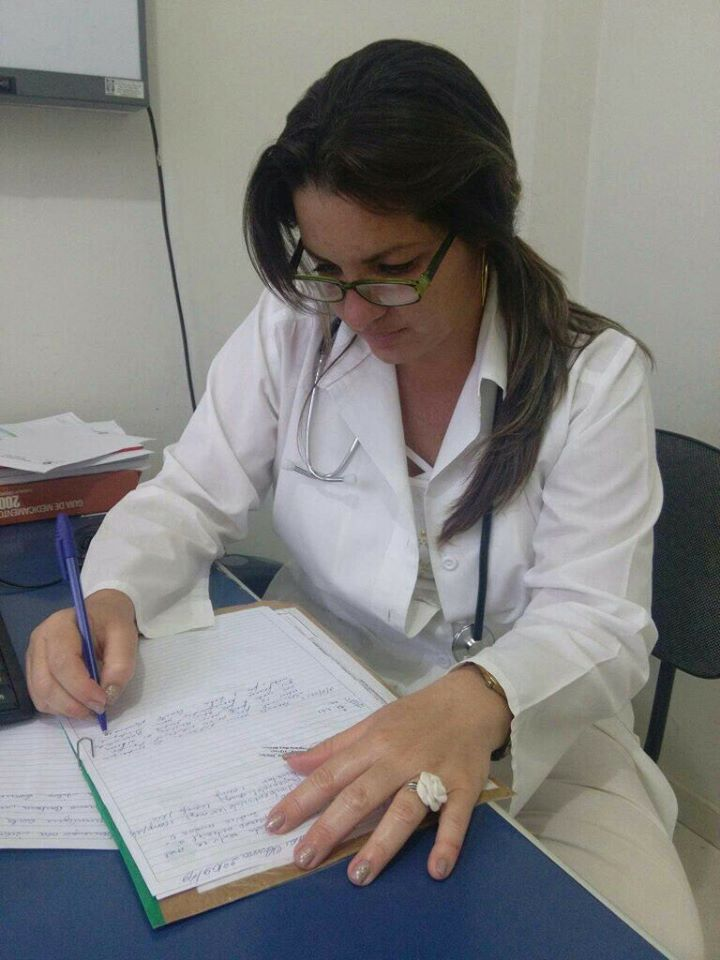 A médica Griela Tirse organizou o grupo de cubanos em Minas Gerais