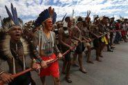 Indígenas farão protestos em todos os estados contra a política de demarcações de Bolsonaro | Foto: Cimi/Divulgação