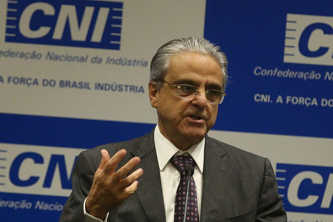 Presidente da Confederação Nacional da Indústria (CNI), Robson Andrade foi preso pela PF durante a operação Fantoche