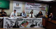 Reunião definiu estratégias e agenda de mobilização | Foto: Divulgação/CUT-RS