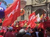 Ato na Praça da Sé em São paulo reuniu milhares de trabalhadores contra a Reforma da Previdênci | Foto: Marcelo Menna Barreto