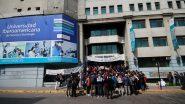 Unicit, ícone do império construído por Filomena com dinheiro público, sofreu intervenção em 2018 por conta de uma dívida de mais de 2 bilhões de pesos, não pagamento de salários para professores e alunos sem aulas | Foto: t13/ Reprodução