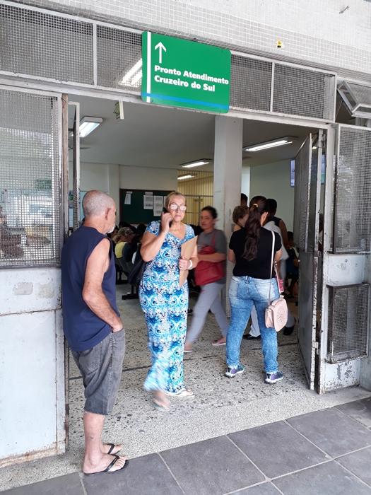 Posto da Vila Cruzeiro: superlotação e demora no atendimento