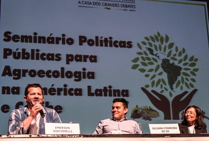 """Giacomelli (E): """"agroecologia é projeto de transformação social"""""""