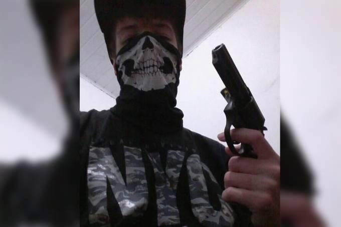 Guilherme Taucci Monteiro, de 17 anos, frequentava fóruns de extrema direita e cultuava armas