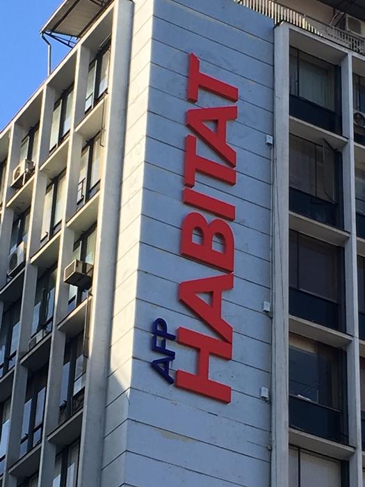 Habitat, a única das seis AFPs com 50% de capital nacional
