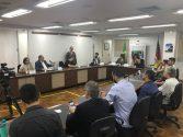 Audiência na Comissão de Educação discutiu constantes atrasos salariais, não pagamento de verbas rescisórias , entre outros problemas | Foto: Comunicação Sinpro/RS