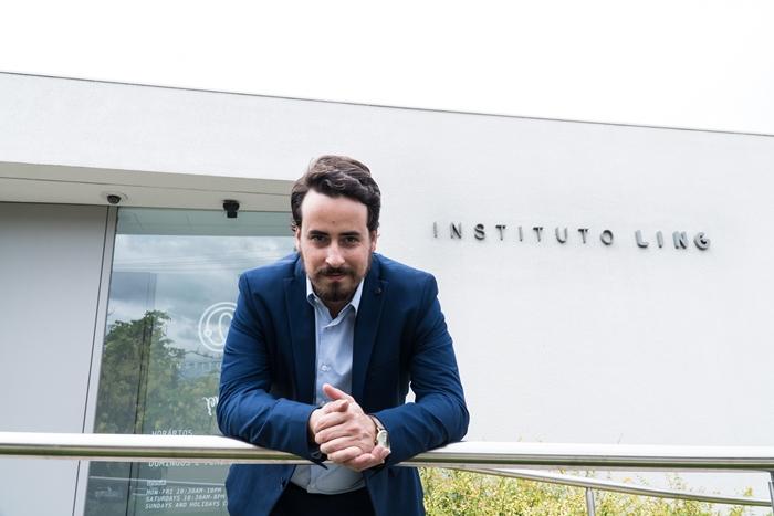 Mathias Pinto, coordenador da Oficina de Choro