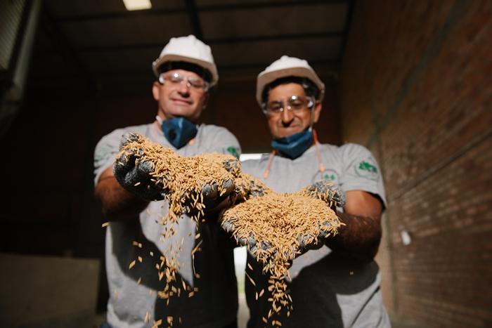 O MST possui unidades próprias de agroindústrias e Unidade de Beneficiamento de Sementes