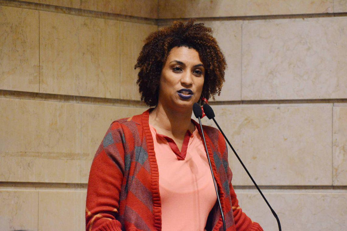 A vereadora Marielle Franco (PSol) foi assassinada em um atentado no qual seu motorista, Anderson Gomes, também foi morto, em 14 de março de 2018