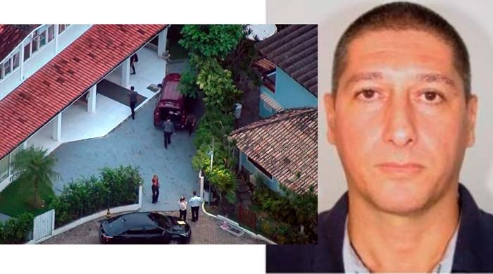 O ex-policial militar e miliciano Ronnie Lessa, foi preso no condomínio onde mora o presidente Bolsonaro