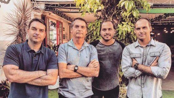 Família Bolsonaro_Jair Bolsonaro_Flavio Bolsonaro | Foto: Reprodução Instagram