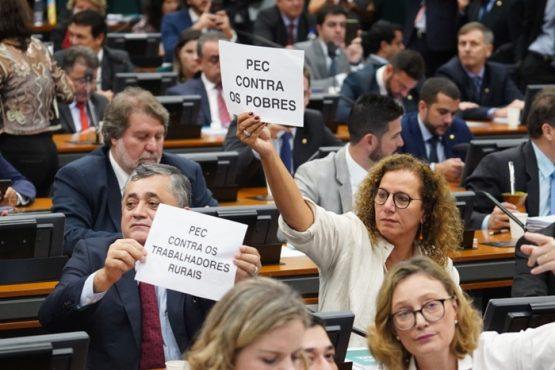 Sigilo pode bloquear votação da reforma da Previdência na CCJ | Foto: Pablo Valadares/Câmara dos Deputados