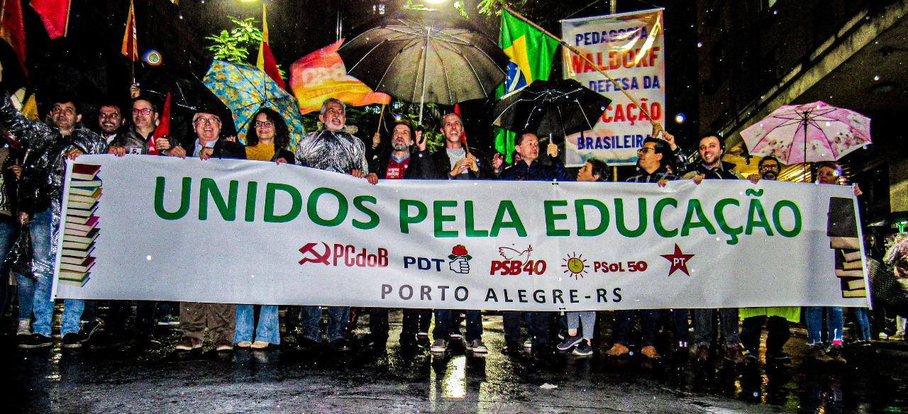 #30MPelaEducacao em Porto Alegre (RS)