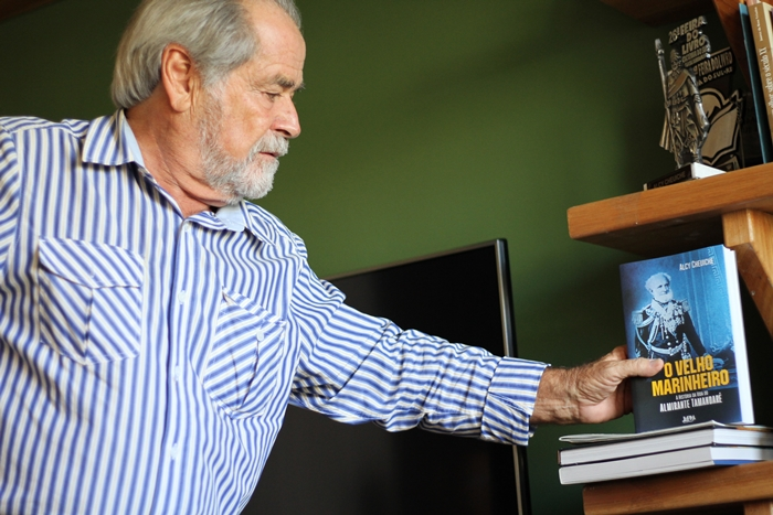 """""""Ele arriscou a vida desde jovem. Foi com 14 anos lutar pela Independência do Brasil e depois ele estava lá, com quase 70 anos, lutando no Paraguai. Estava em progresso um projeto para a colocação dos ex-escravos"""""""