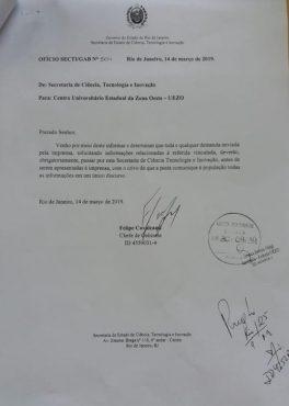 Governo do Rio censura universidades estaduais | Imagem: Reprodução