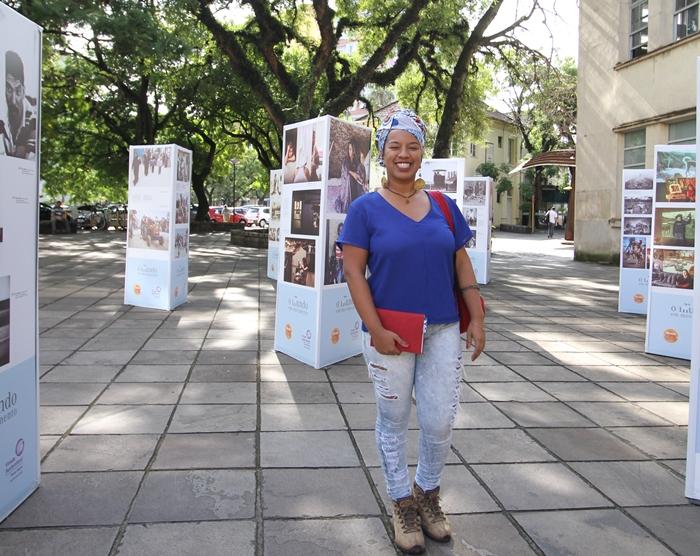 A maranhense Dayanne Santos: doutorado em Sociologia sobre a desarticulação de comunidades tradicionais no Maranhão e no RS
