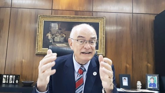 Rui Oppermann, reitor da Ufrgs fala sobre a greve | Foto: YouTube/Reprodução