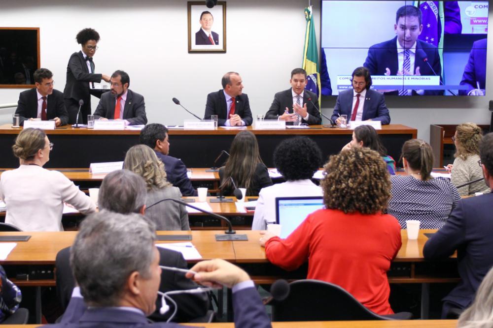 Audiência pública sobre a atuação de juízes e procuradores brasileiros no âmbito da Operação Lava Jato com a participação do Jornalista Glenn Greenwald