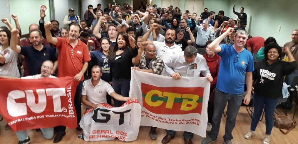 Unidade entre as centrais sindicais com os movimentos sociais e estudantis anima organizadores