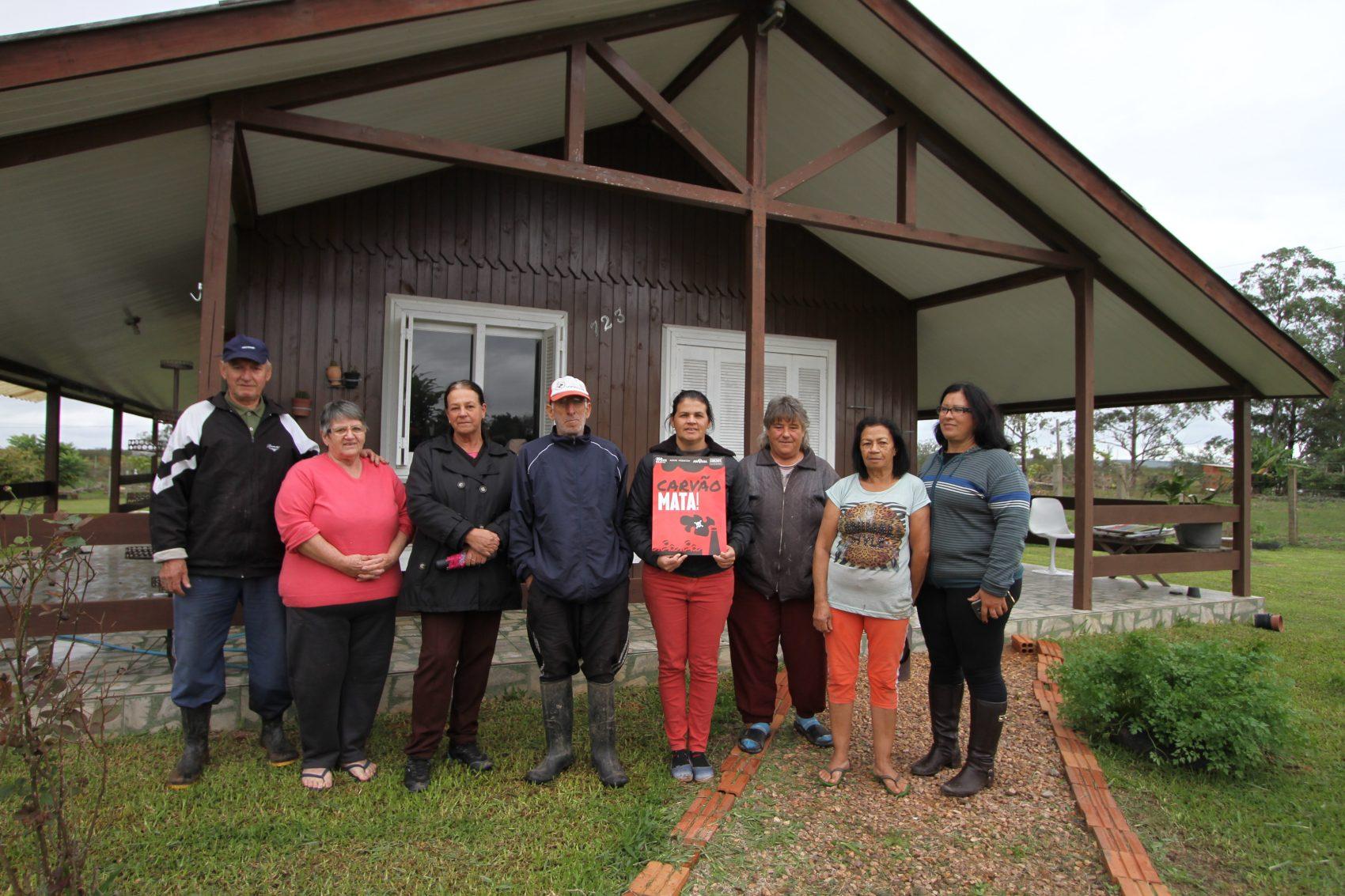 Moradores da Comunidade de Guaiba City temem as consequências do empreendimento