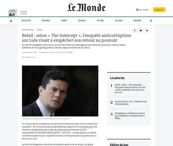 Denúncias sobre fraude nas eleições brasilerias repercutiram na Europa: