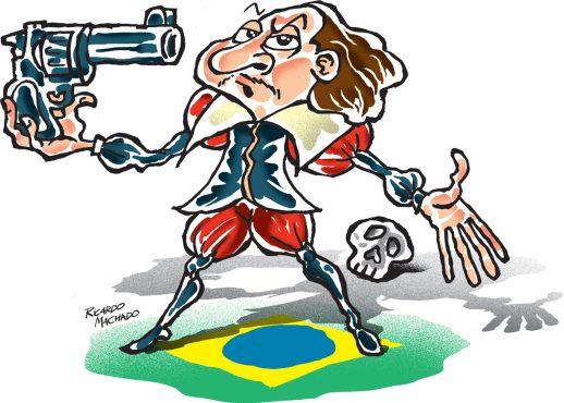 A frase | Luis Fernando Verissimo | Ilustração de Ricardo Machado | Ilustração: Ricardo Machado