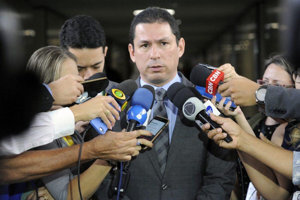 Deputado Marcelo Ramos (PL-AM) recebeu ameaças por conta da proposta de substitutivo