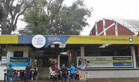 Paralisação Medotista de Passo Fundo_Foto Lisene Maroso @ | Foto: Lisene Maroso/Divulgação