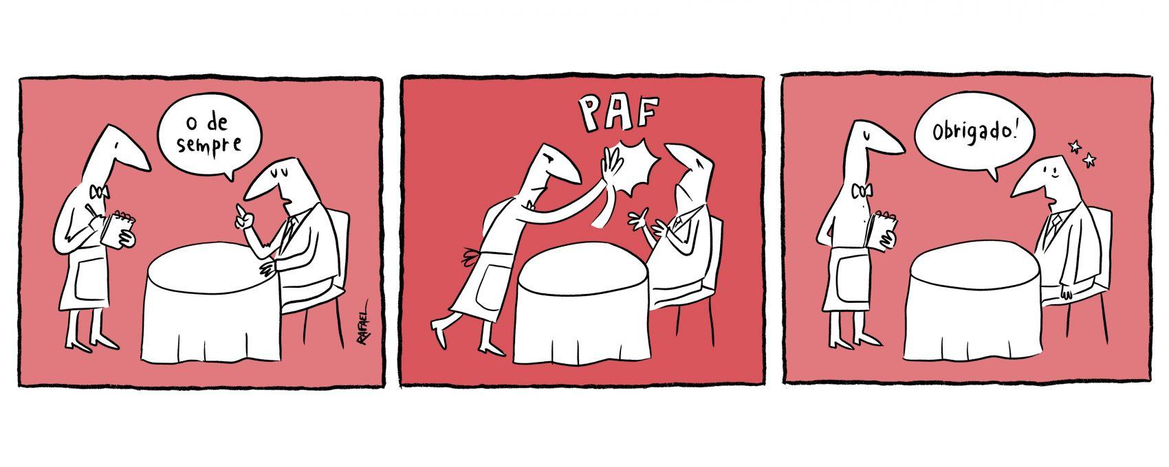 Rato Falho: a bofetada | Rafael Corrêa