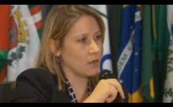 procuradora Laura Tessler | Foto: Reprodução YouTube