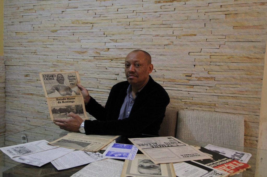 Roberto Santos, professor de História da Ulbra por 25 anos, doutorando em Educação com ênfase em Estudos Culturais