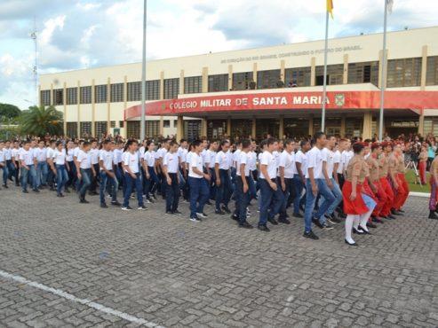 Justiça assegura autonomia de pais e mestres do Colégio Militar | Foto: Colégio Militar de Santa Maria/ Divulgação