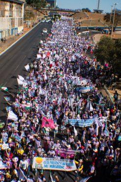 6ª Marcha das Margaridas em Brasília