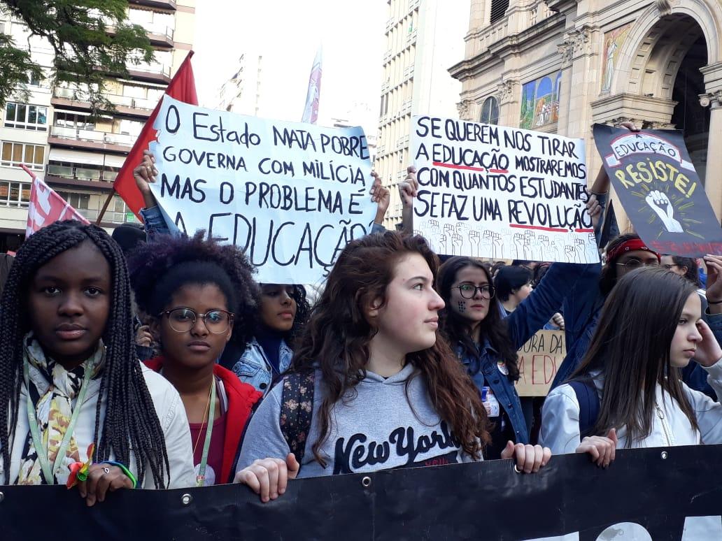 Dia Nacional de Mobilização em Porto Alegre