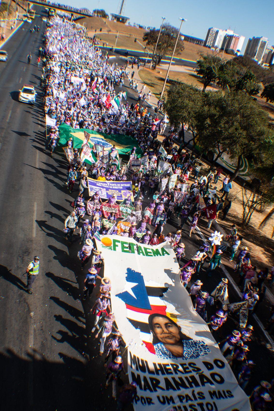 Marcha das Margaridas 2019 em Brasília