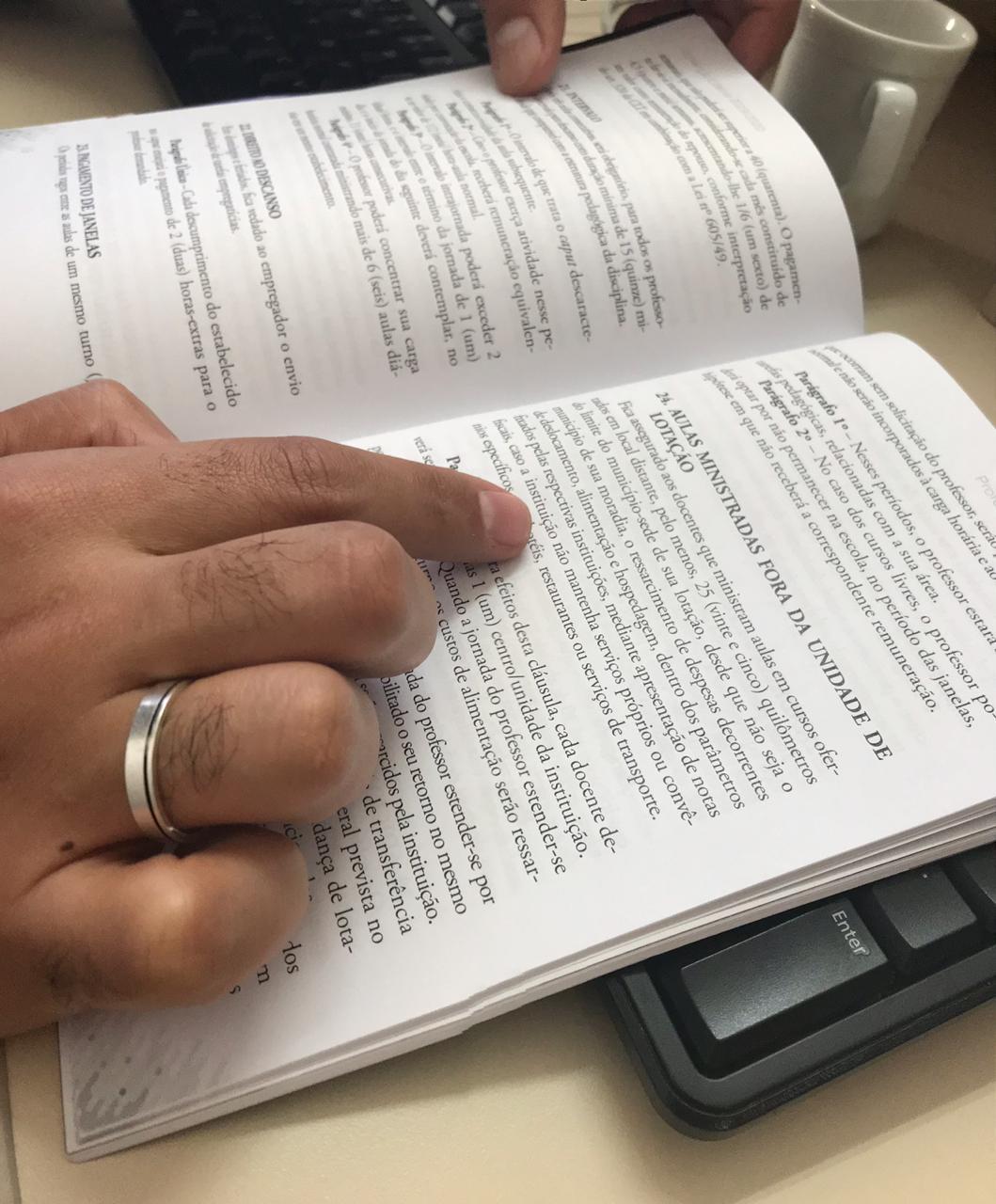 Iniciaram-se as entregas dos cadernos das CCTs