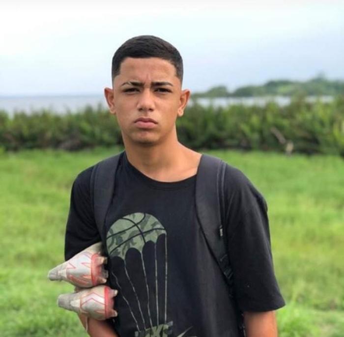 Dyogo Costa Xavier de Brito, 16 anos