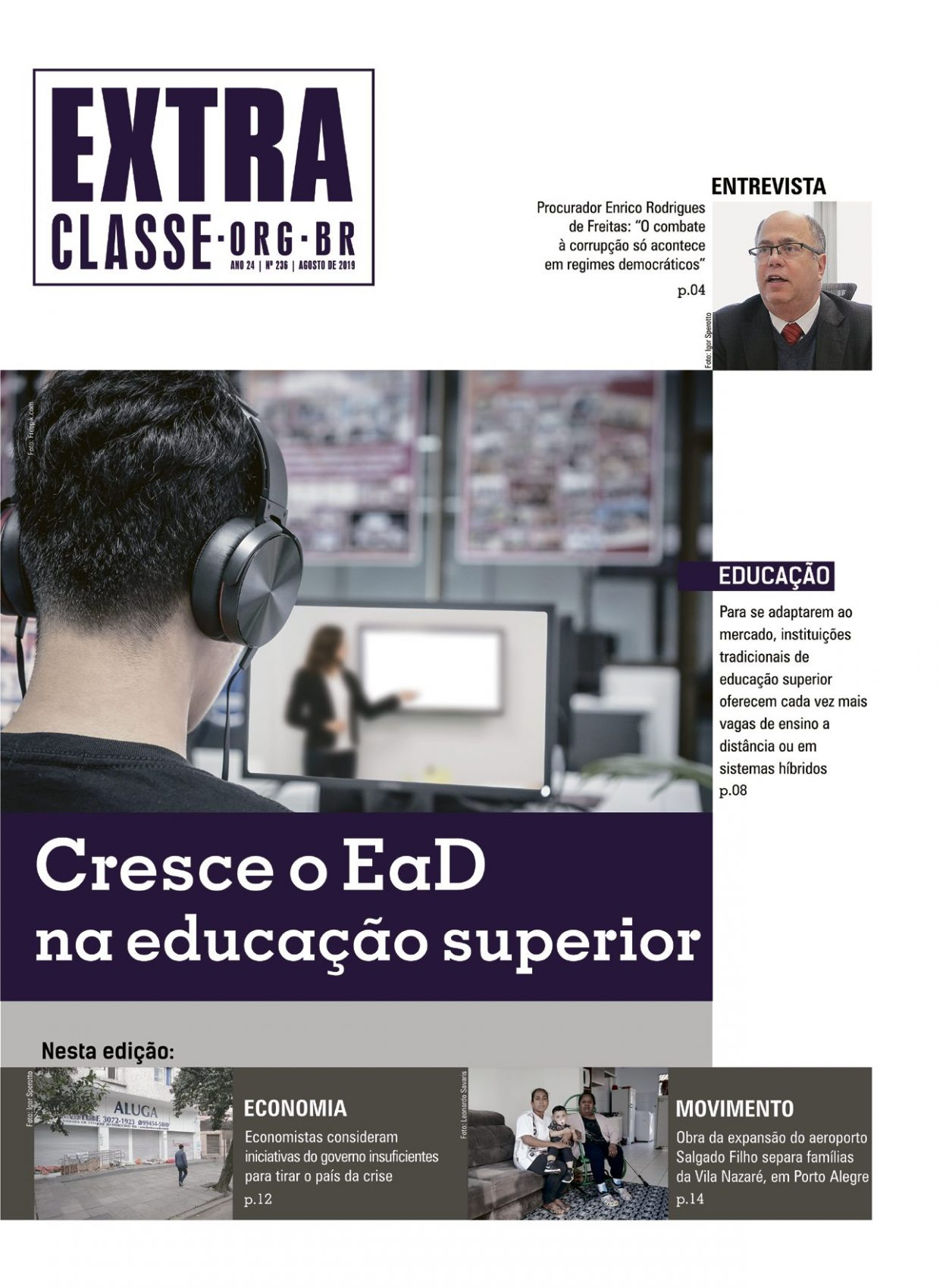 Extra Classe Nº 236 | Ano 24 | AGO 2019