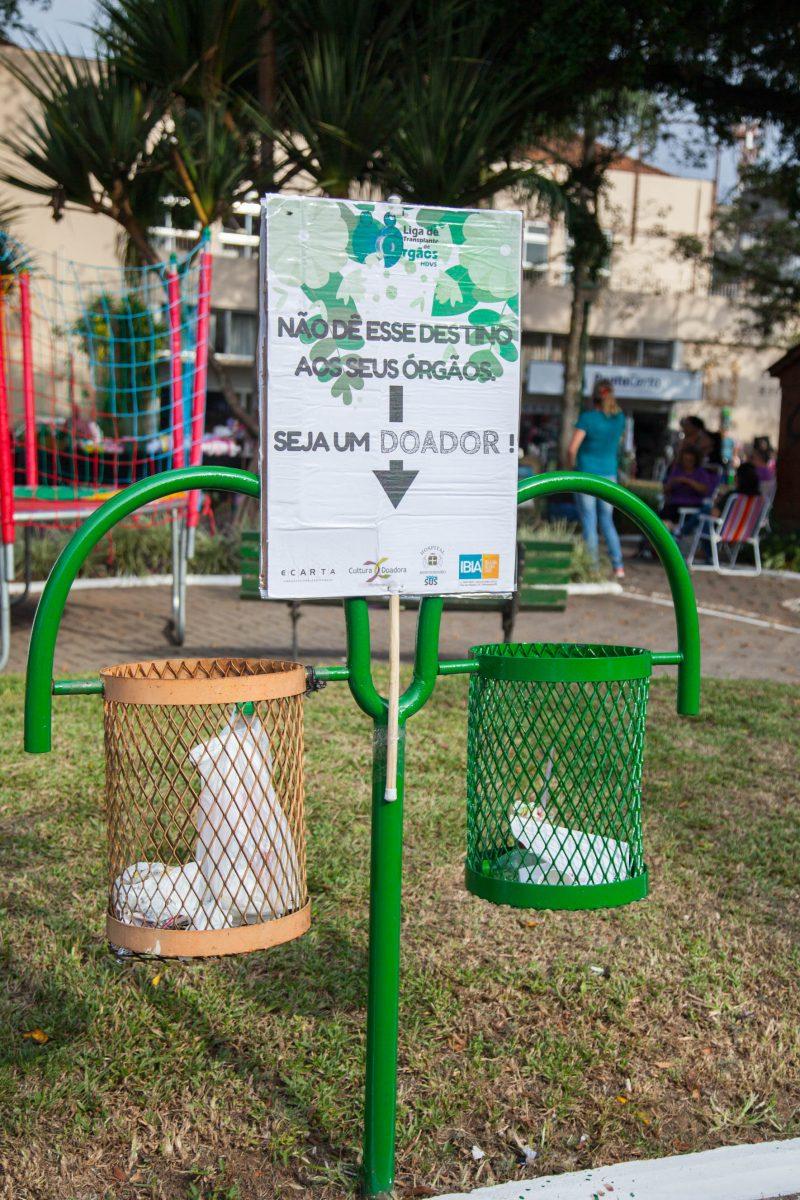 Cultura Doadora Montenegro - campanha de rua