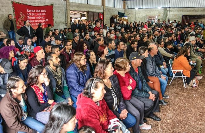 Festa lotou o salão da comunidade Macali II, em Ronda Alta