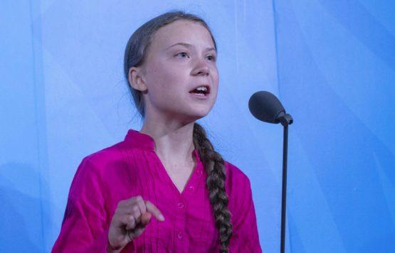 Greta Thunberge na ONU | Foto: Reprodução site UN