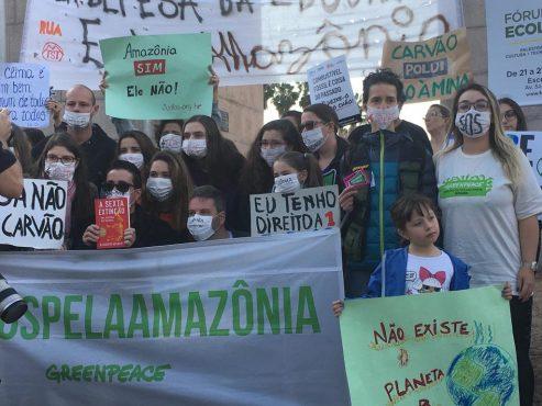 Greve Mundial em defesa do meio ambiente | Marcelo Menna Barreto
