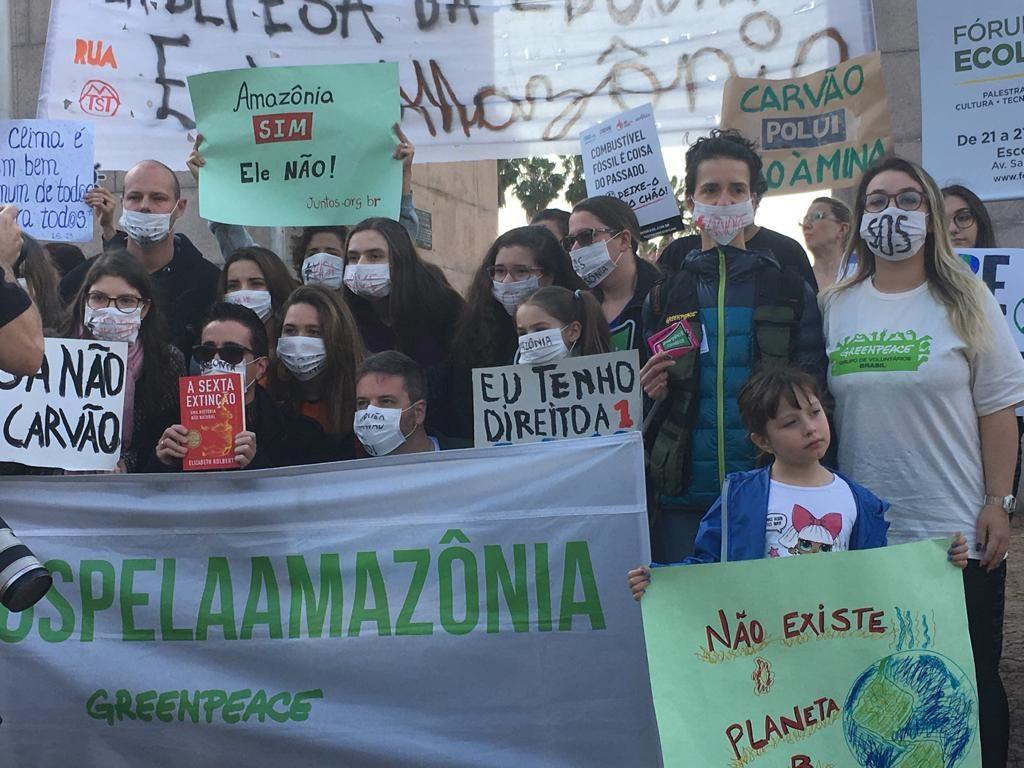 Greve Mundial em defesa do meio ambienteGreve Mundial em defesa do meio ambiente