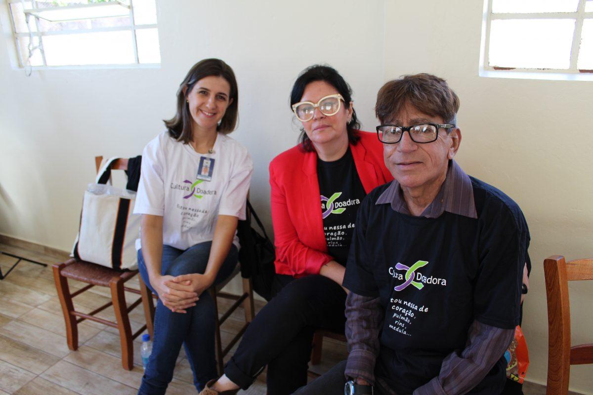 Palestra e depoimentos para a Comunidade da Linha Pinheiro Machado, em Brochier