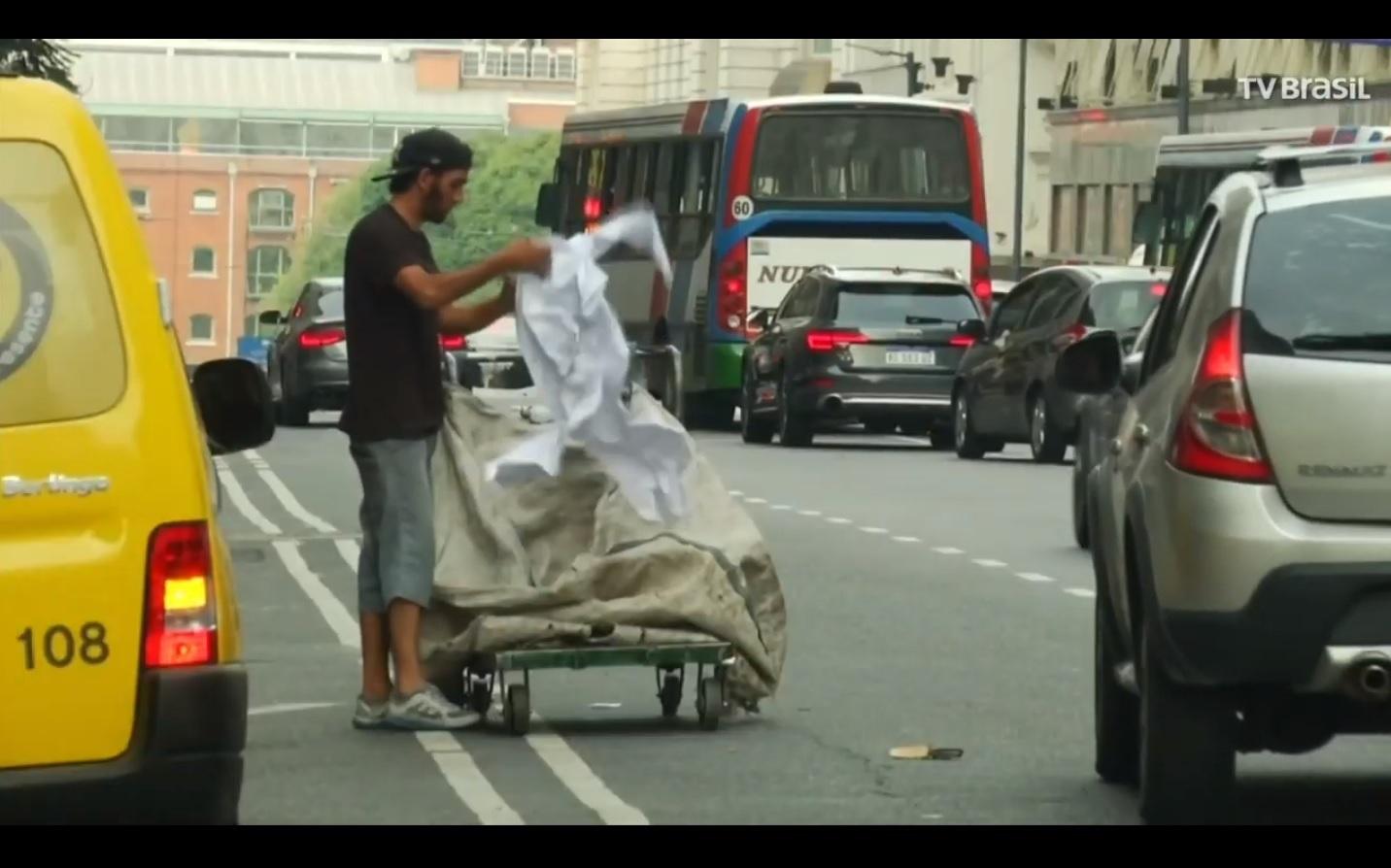 Pobreza na Argentina aumenta devido à crise econômica