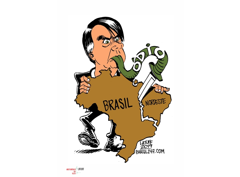 Independência em Risco - Latuff