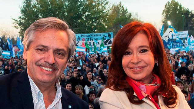 Fernández e Cristina assumem o governo em dezembro