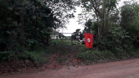 Ocupação de área em Taquari | Foto: divulgação MST